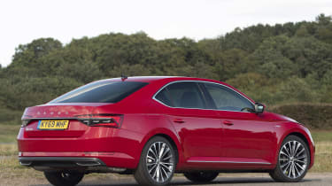 Skoda Superb - rear static