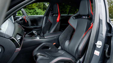 BMW M5 CS - front seats