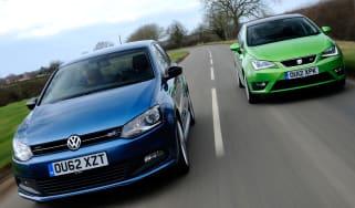 Volkswagen Polo BlueGT vs SEAT Ibiza FR