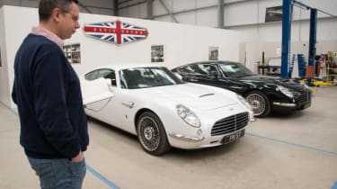 Hugo Griffiths at David Brown Automotive