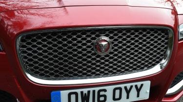Jaguar XF long term - second report grille