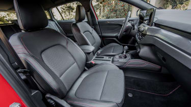 Ford Focus Estate - front seats