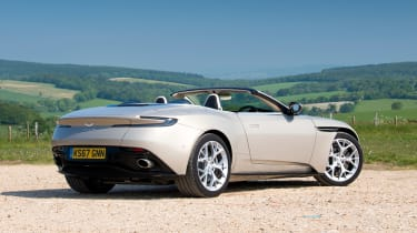 Aston Martin DB11 Volante - rear static