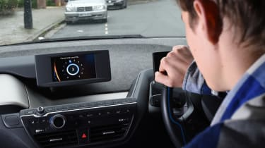 Ultimate guide to car sharing - DriveNow BMW i3 interior