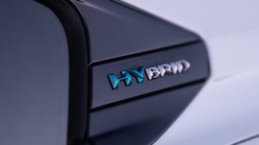 Peugeot 508 Hybrid - Hybrid badge