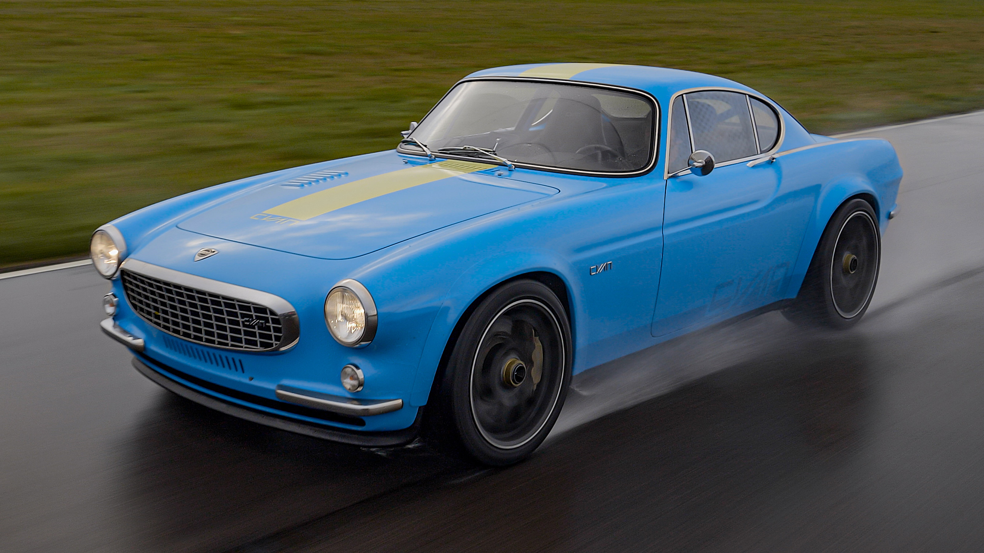 New Volvo P1800 Cyan review | Auto Express