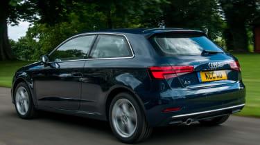 Audi A3 TFSI 2016 - rear tracking