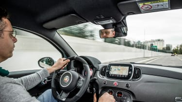 Abarth 695 70th Anniversario - Hugo driving
