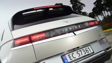Hyundai Ioniq 5 - rear detail