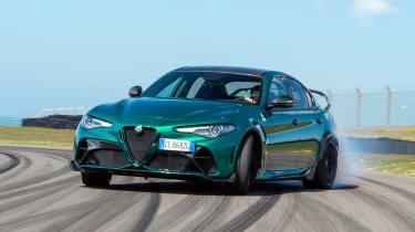 Alfa Romeo Giulia GTAm - front drift