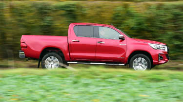 Toyota Hilux Invincible X side