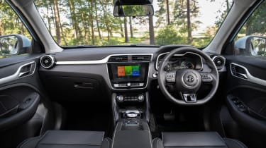 MG ZS EV interior