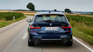 BMW 3 Series Touring - full rear