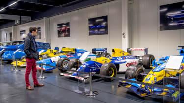Renault Formula 1 cars