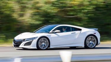 New Honda NSX 2015 white front