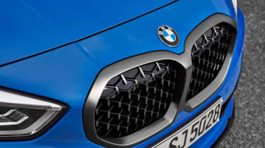 New BMW M135i 2019 1 Series grille