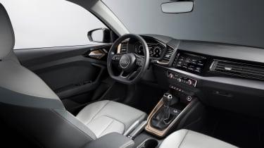 New Audi A1 - interior