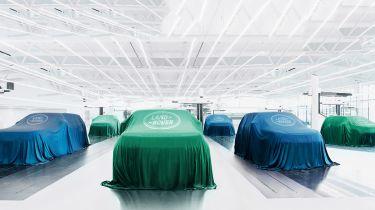 Land Rover EVs