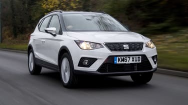 SEAT Arona front tracking