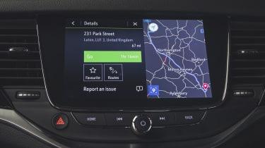Vauxhall Astra 2019 facelift - navigation