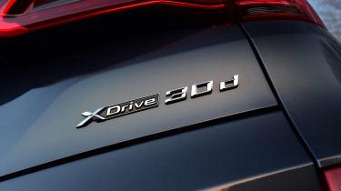 BMW X5 - rear badge