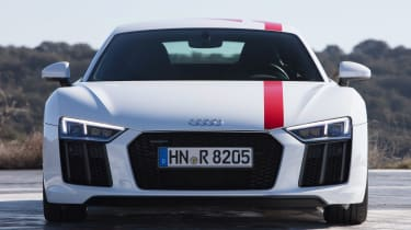 Audi R8 RWS - full front static