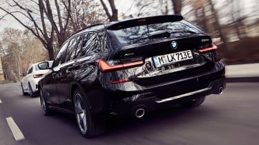 BMW 330e Touring - rear