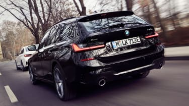 BMW 330e Touring - rear