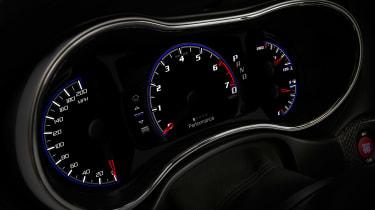 Jeep Grand Cherokee Trackhawk - dials