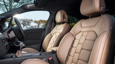New DS 4 diesel UK drive seats