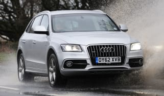 Audi Q5 front tracking