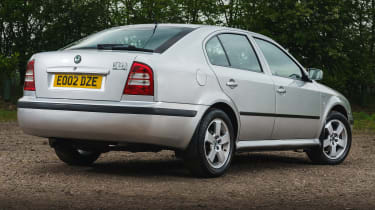 Skoda Octavia - rear static