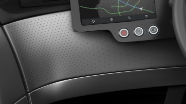 Uniti One EV - dashboard detail