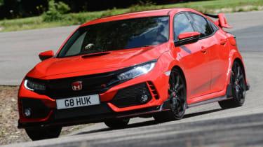 UK Honda Civic Type R 2017 - corner front