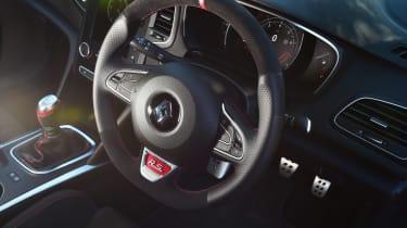 Renault Megane RS - steering wheel