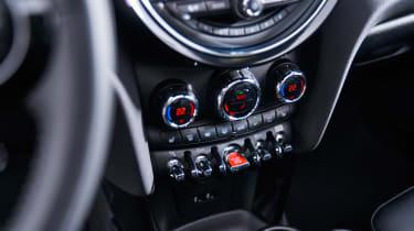 MINI hatch - centre console