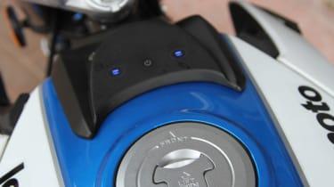 Lexmoto Venom review - fuel filler cap