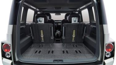 New Toyota Tj Cruiser concept - boot interior
