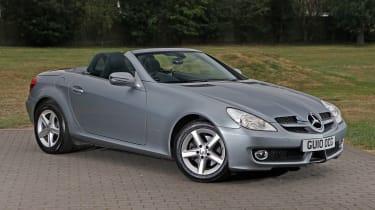 Used Mercedes SLK - front