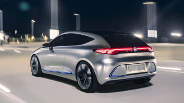 Mercedes EQA concept - rear
