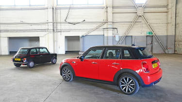 MINI Jet Black vs MINI Cooper 5dr - head-to-head