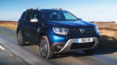 Dacia Duser 4x4 - front