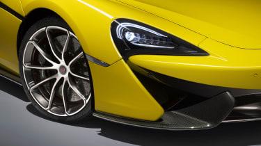 McLaren 570S Spider - front detail