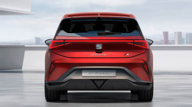 SEAT el-Born concept - full rear