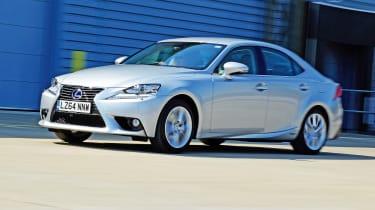 Driver Power key car: Lexus IS
