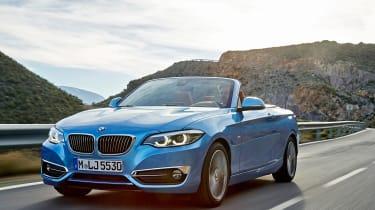 BMW 2 Series 2017 facelift front quarter