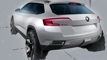 Skoda Karoq drawn