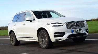 Volvo XC90 - front action