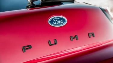 Ford Puma - rear Puma badge
