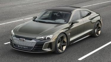Audi e-tron GT concept - front static